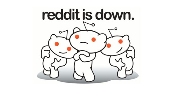 Reddit is down!